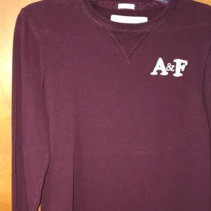 ABERCROMBIE & FITCH Guys LG Long Sleeve Top